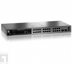 LevelOne 24 Port PoE Switch